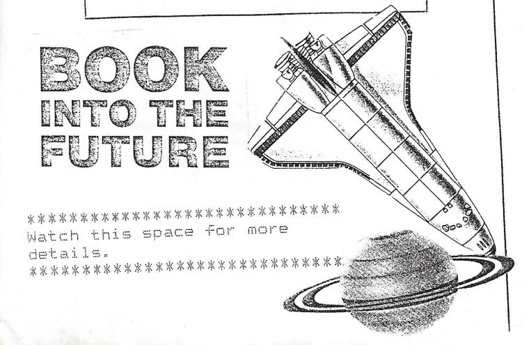 Book into the future