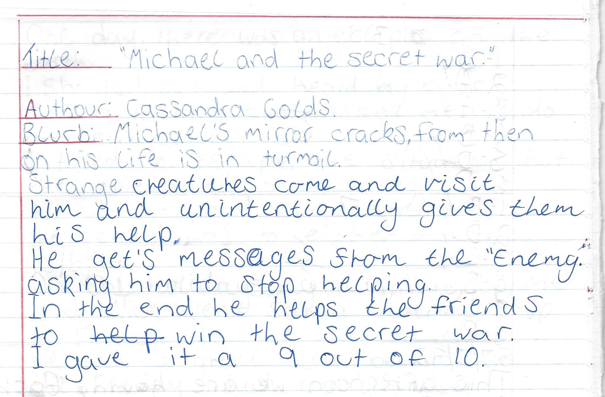 Michael and the secret war review