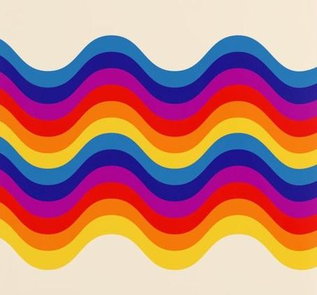 wavy-retro-rainbow1997435-posters